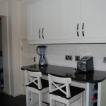 Cream shaker kitchen