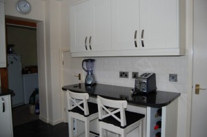 Cream shaker kitchen